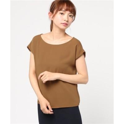 tシャツ Tシャツ サテンバックツイストプルオーバー