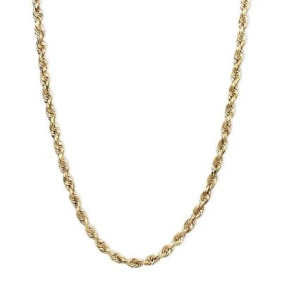 """メイシーズ Macy's レディース ネックレス ジュエリー・アクセサリー 14k Gold Necklace, 20"""" Rope Chain (1-3/4mm) No Color"""