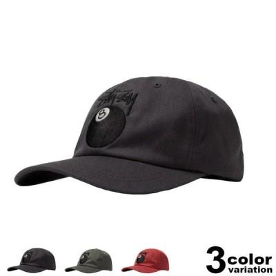 ステューシー stussy キャップ ローキャップ メンズ Stock 8 Ball Low Pro Cap 帽子 2021 新作