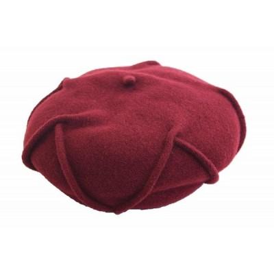 CELINE ROBERT WISE ボルドー ベレー帽 帽子 レディース 婦人 ウール ファッション フェミニン おしゃれ フランス製 直輸入 ネット通販 秋冬