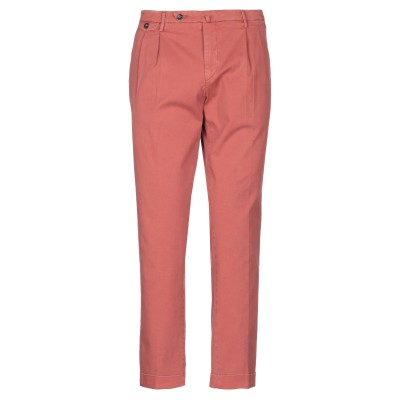 BRIGLIA 1949 パンツ 赤茶色 38 コットン 97% / ポリウレタン 3% パンツ