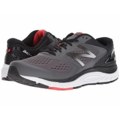 New Balance ニューバランス メンズ 男性用 シューズ 靴 スニーカー 運動靴 840v4 Magnet/Energy Red【送料無料】