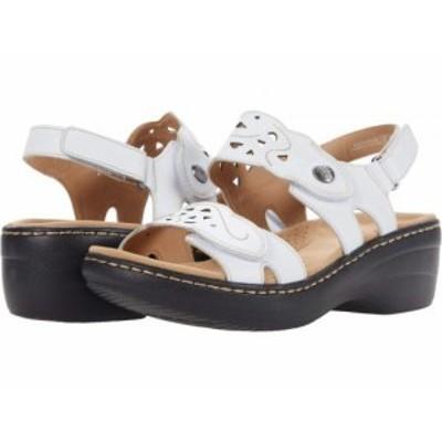 Clarks クラークス レディース 女性用 シューズ 靴 ヒール Merliah Dove White Leather【送料無料】
