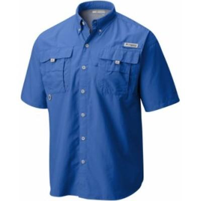 コロンビア メンズ シャツ トップス Men's PFG Bahama II Short Sleeve Shirt Vivid Blue