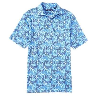 ダニエル クレミュ メンズ シャツ トップス Paisley Print Short-Sleeve Polo Shirt