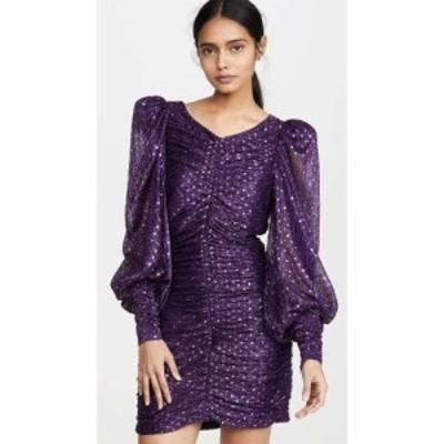 フォーラブアンドレモン For Love and Lemons レディース ワンピース ミニ丈 ワンピース・ドレス La Villette Mini Dress Violet