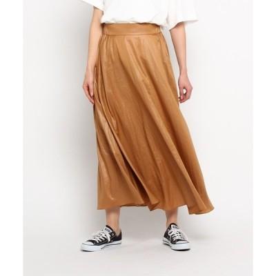 ◆【洗える】ヴィンテージライクロングスカート