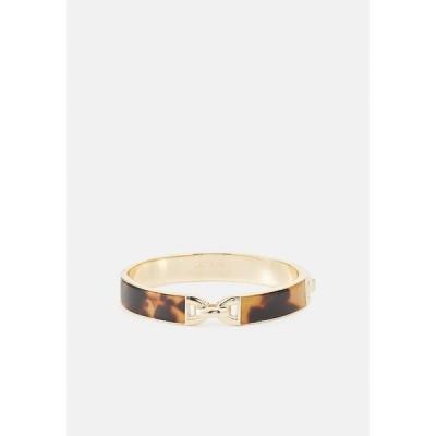 ラルフローレン ブレスレット・バングル・アンクレット レディース アクセサリー INLAY BANGLE - Bracelet - gold-coloured