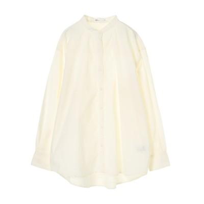 綿ブロードバンドカラーシャツ