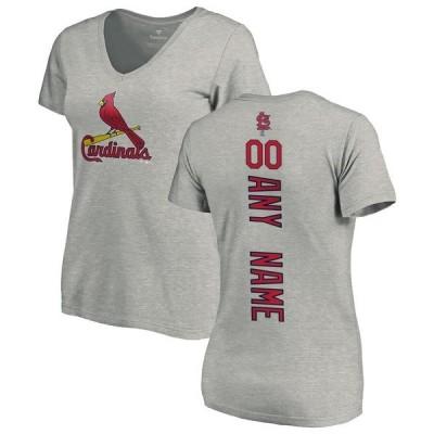 ファナティクス ブランデッド レディース Tシャツ トップス St. Louis Cardinals Fanatics Branded Women's Personalized Playmaker T-Shirt