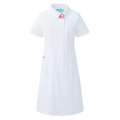 049 KAZEN ワンピース半袖 ナースウェア・白衣・介護ウェア