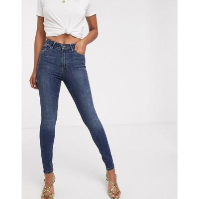 ヴェロモーダ Vero Moda レディース ジーンズ・デニム スキニー ボトムス・パンツ skinny jean in mid blue denim