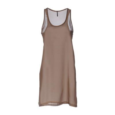 リビアナ コンティ LIVIANA CONTI ミニワンピース&ドレス カーキ 42 ポリエステル 100% ミニワンピース&ドレス