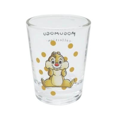 チップ&デール Dale ショットグラス ミニ ガラス タンブラー MOGUMOGUシリーズ ディズニー サンアート