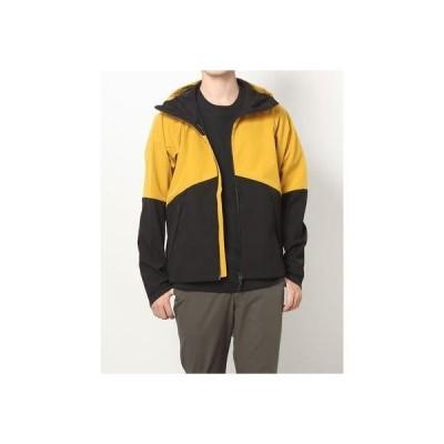 ティゴラ TIGORA メンズ ウインドジャケット TR-9C1701WJ (イエロー)