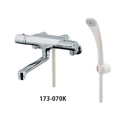 カクダイ サーモスタットシャワー混合栓 173-070K 高性能サーモ 寒冷地仕様 浴室用混合水栓