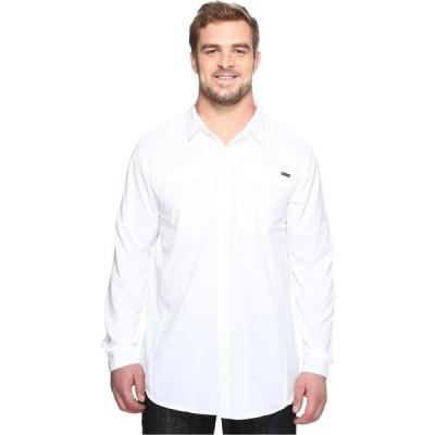 コロンビア Columbia メンズ シャツ 大きいサイズ トップス Big and Tall Silver Ridge Lite Long Sleeve Shirt White