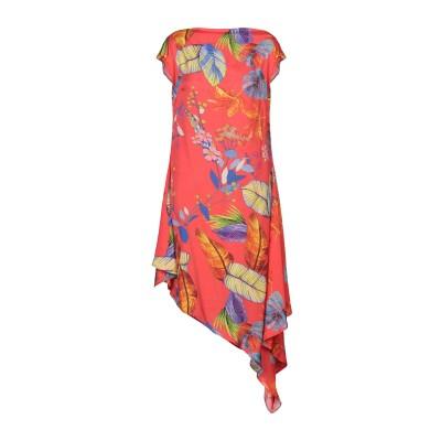 ピンコ PINKO ミニワンピース&ドレス レッド 40 レーヨン 100% ミニワンピース&ドレス
