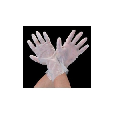 エスコ ESCO [L/300mm] 手袋・耐溶剤(0.2mmポリウレタン/5双) EA354BG-3