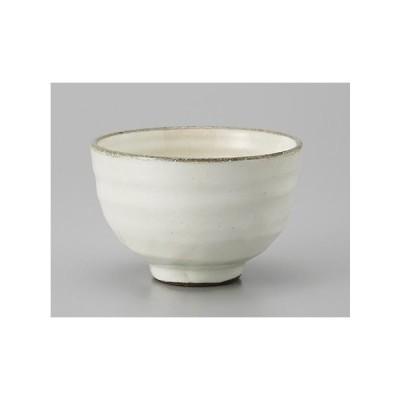 湯呑み 湯飲み 湯のみ茶碗 窯変粉引煎茶 土物 業務用 和食器 美濃焼 9a553-40-31g