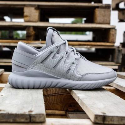 アディダス Adidas メンズ スニーカー シューズ・靴 Tubular Nova gray/charcoal solid grey/metallic silver/pearl grey
