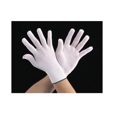 エスコ ESCO [L/220mm] 手袋・インナー(キュプラポリエステル/10双) EA354AE-12