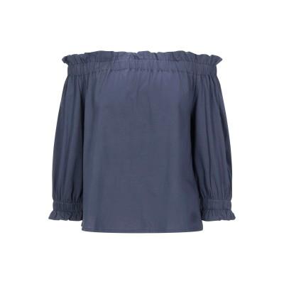 エンポリオ アルマーニ EMPORIO ARMANI T シャツ ブルーグレー 38 コットン 100% T シャツ