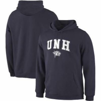 Fanatics Branded ファナティクス ブランド スポーツ用品  Fanatics Branded New Hampshire Wildcats Navy Campus Pull