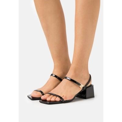 ベルサーチ サンダル レディース シューズ Sandals - black