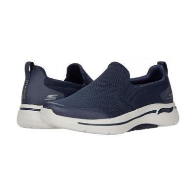 SKECHERS Performance スケッチャーズ メンズ 男性用 シューズ 靴 スニーカー 運動靴 Go Walk Arch Fit - Togpath - Navy/Grey