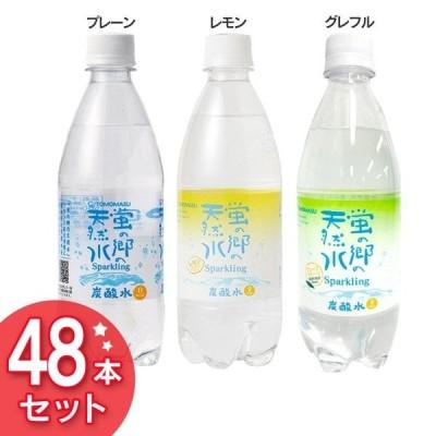 炭酸水 蛍の郷の天然水 500ml 48本 (D)