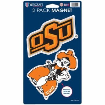 WinCraft ウィンクラフト スポーツ用品  WinCraft Oklahoma State Cowboys 5 x 9 2-Pack Magnet Set