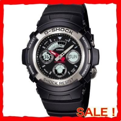 [カシオ] 腕時計 ジーショック AW-590-1AJF ブラック
