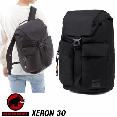 ★20%オフ!★MAMMUT マムート Xeron 30 BACK PACK  リック ブラックカラー 30リットル 日本正規代理店商品 BAG XERONシリーズ