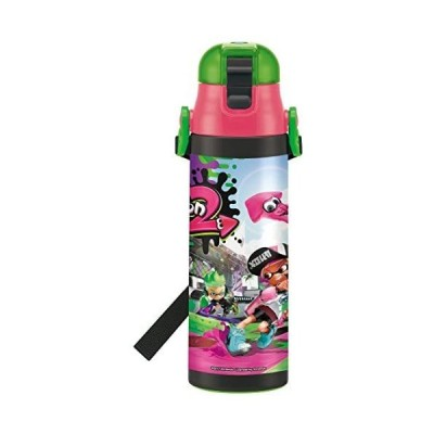 スケーター 子供用 直飲み 水筒 ステンレス 580ml スプラトゥーン 2-A (直飲み 580ml)