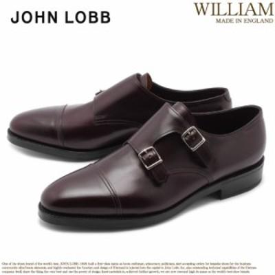 ジョンロブ ドレスシューズ メンズ 革靴 紳士靴 モンクストラップ ウィリアム JOHN LOBB WILLIAM 228192L