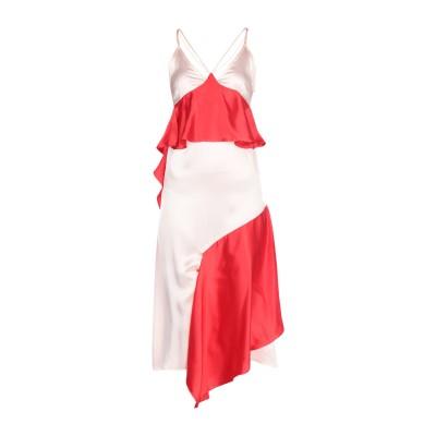 イーチ×アザー EACH X OTHER 7分丈ワンピース・ドレス ライトピンク M シルク 100% 7分丈ワンピース・ドレス
