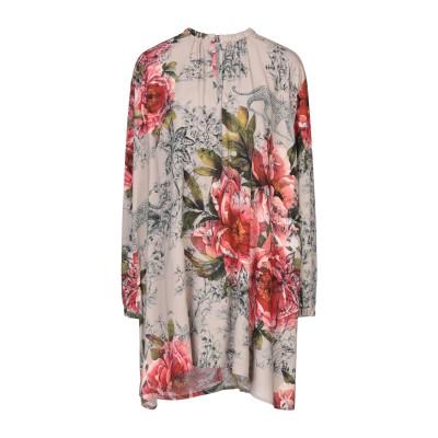SOALLURE ミニワンピース&ドレス ドーブグレー 42 レーヨン 100% ミニワンピース&ドレス