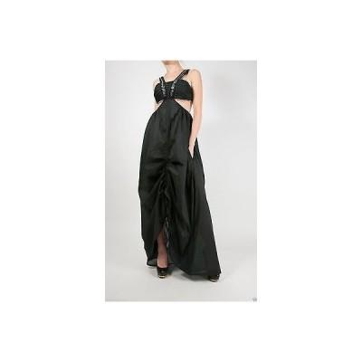 """ドレス サスアンドバイド Sass  Bide """"HURTS SO GOOD"""" Evening Black Dress 36 - 0"""