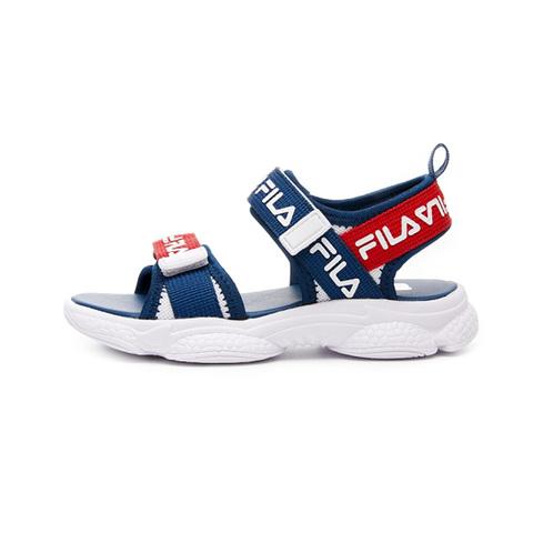 FILA KIDS 中童MD運動涼鞋-白藍紅 2-S427V-123