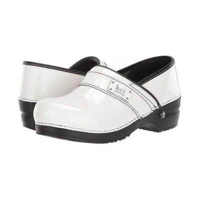 Sanita サニタ レディース 女性用 シューズ 靴 クロッグ ミュール Lindsey by Koi - White