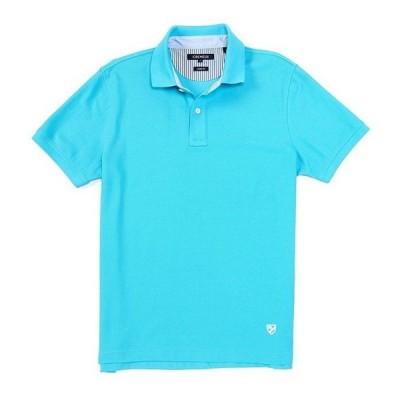 ダニエル クレミュ メンズ シャツ トップス Soho Slim-Fit Solid Pique Short-Sleeve Polo Shirt