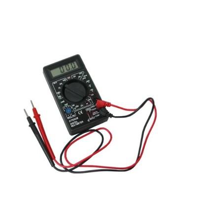 送料無料 デジタルテスター マルチメーター 小型 DT-830B  電池付き