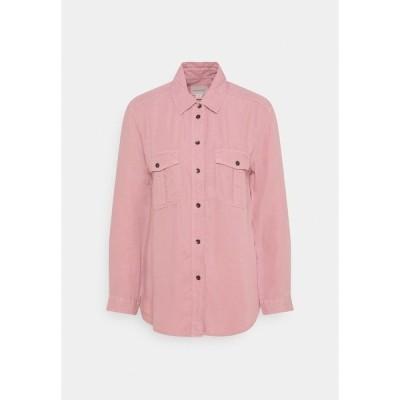 アメリカンイーグル シャツ レディース トップス CORE MILITARY - Button-down blouse - dusty pink