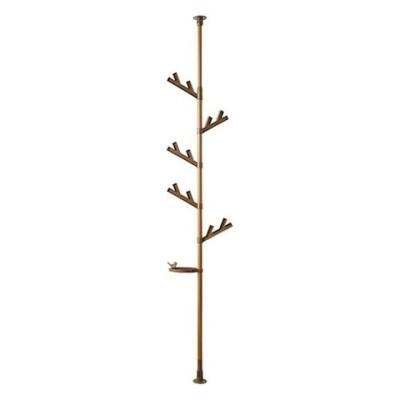 つっぱり式ポールハンガーあいツリー TPH2-WOOD (1台)