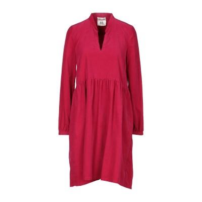 セミクチュール SEMICOUTURE ミニワンピース&ドレス フューシャ 38 コットン 100% ミニワンピース&ドレス