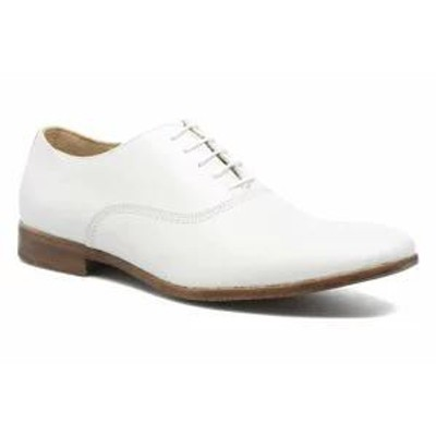 Marvin&co メンズシューズ Marvin&co Lace-up shoes Marvin&co Newry White Bavi Bianco