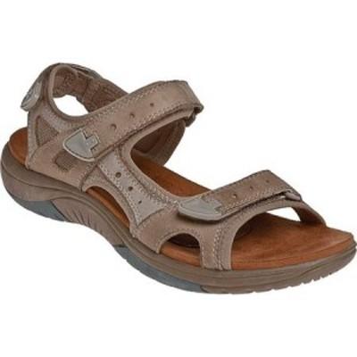 ロックポート Rockport レディース サンダル・ミュール シューズ・靴 Cobb Hill Fiona Taupe Full Grain Leather