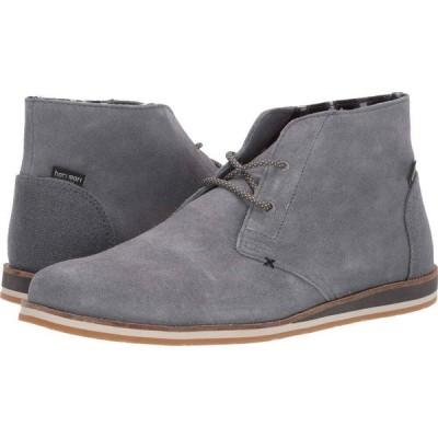 ハリマリ hari mari メンズ ブーツ シューズ・靴 Adobe Desert Boot Charcoal/Charcoal