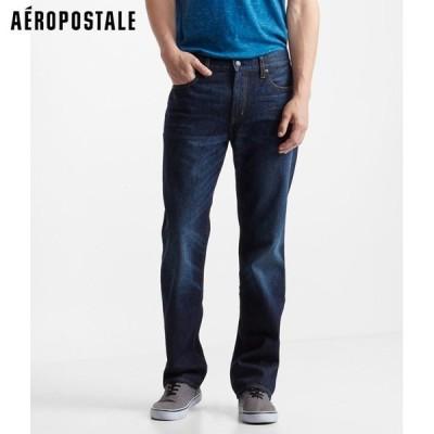 エアロポステール メンズ リラックスジーンズ ダークウォッシュ Relaxed Dark Wash Jean(6010)